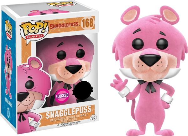 Hanna-Barbera Funko Pop! Vinylfigur Snagglepuss (Flocked) 168 Exclusive