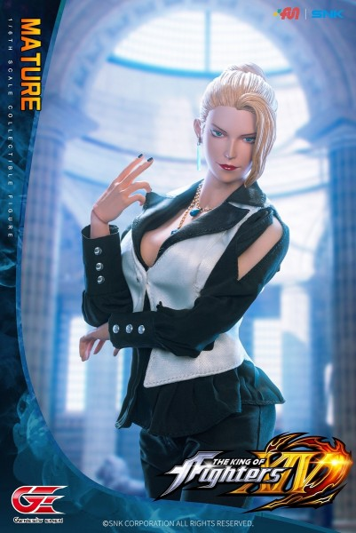 Genesis King of Fighters XIV 1/6 Actionfigur Mature