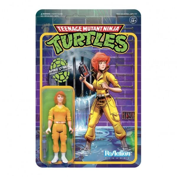Teenage Mutant Ninja Turtles ReAction Actionfigur April O'Neil