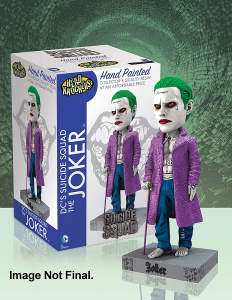 Suicide Squad Head Knocker Wackelkopf-Figur Joker