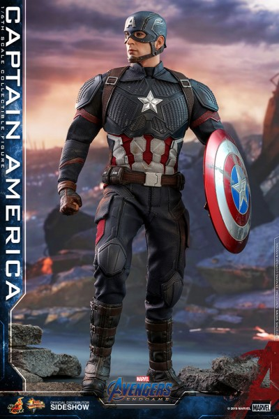 Avengers Endgame Movie Masterpiece Actionfigur 1/6 Captain America