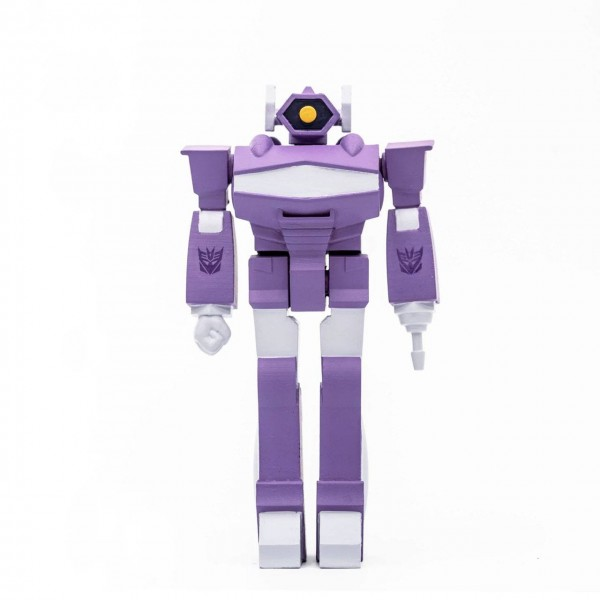 Transformers ReAction Actionfigur Shockwave