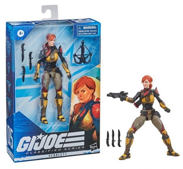 G.I. Joe Classified Series Actionfigur 15 cm Scarlett (Redeco)