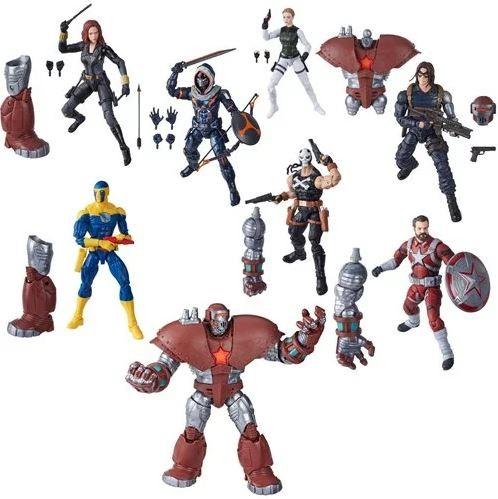 Black Widow Movie Marvel Legends Actionfiguren-Set Wave 1 Crimson Dynamo (7)