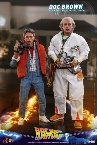 Zurück in die Zukunft Movie Masterpiece Actionfigur 1/6 Doc Brown