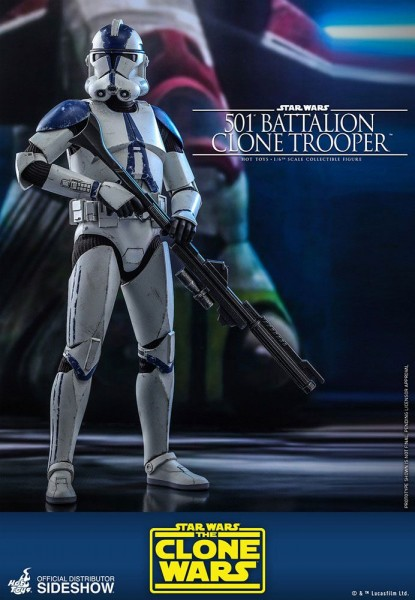 Star Wars Clone Wars Television Masterpiece Actionfigur 1/6 501st Battalion Clone Trooper