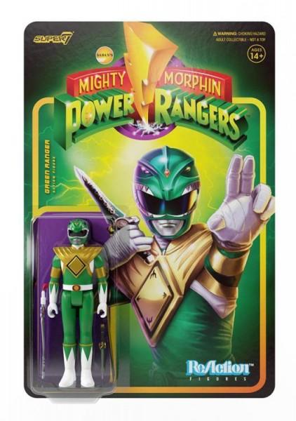 Mighty Morphin' Power Rangers ReAction Actionfigur Green Ranger