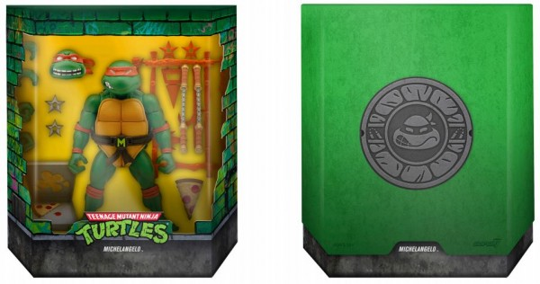 Teenage Mutant Ninja Turtles Ultimates Actionfigur Michelangelo