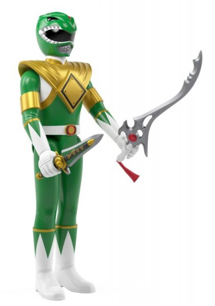 Mighty Morphin' Power Rangers ReAction Actionfigur Green Ranger