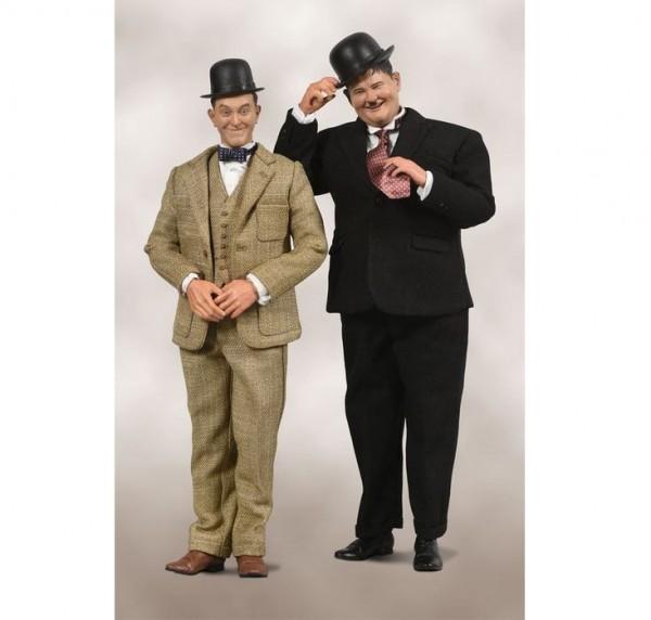 Laurel & Hardy Actionfiguren 1/6 Classic Suits (2-Pack) Limited Edition