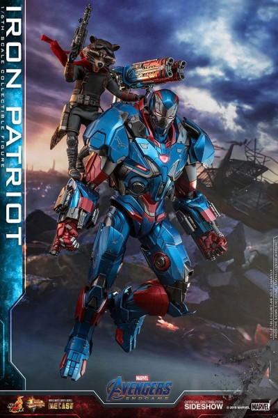 Avengers Endgame Movie Masterpiece Diecast Actionfigur 1/6 Iron Patriot