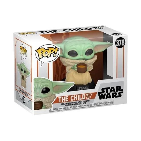 Star Wars Mandalorian Funko Pop! Vinylfigur The Child (with Cup) 378