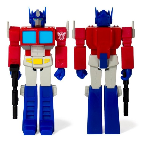 Transformers ReAction Actionfigur Optimus Prime