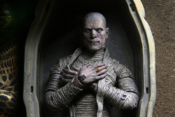 Universal Monsters Actionfigur Ultimate The Mummy (Color)