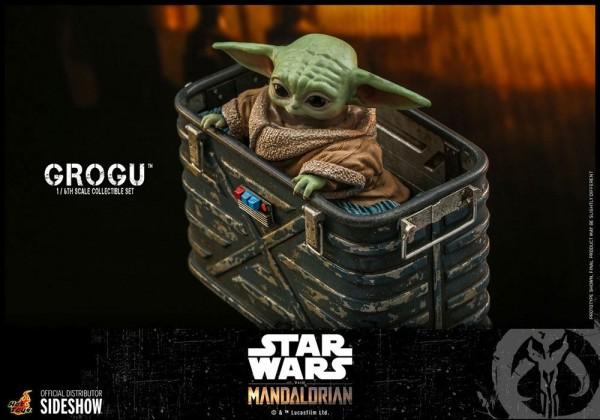Star Wars The Mandalorian Television Masterpiece Actionfiguren 1/6 Grogu (3er Set)