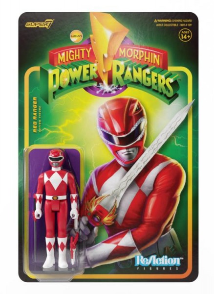 Mighty Morphin' Power Rangers ReAction Actionfigur Red Ranger