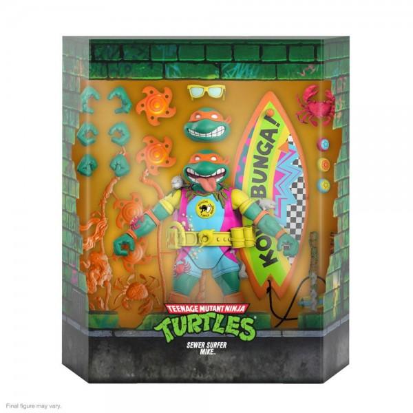 Teenage Mutant Ninja Turtles Ultimates Actionfigur Sewer Surfer Mike