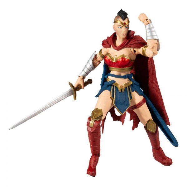 DC Multiverse Build A Actionfigur Wonder Woman (Last Knight on Earth)