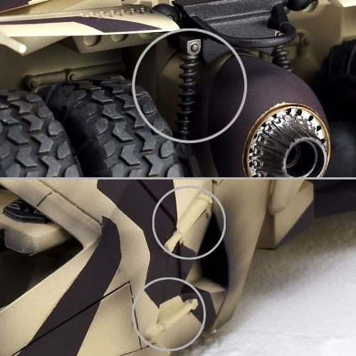 Revoltech #43EX Batmobile Tumbler Camouflage