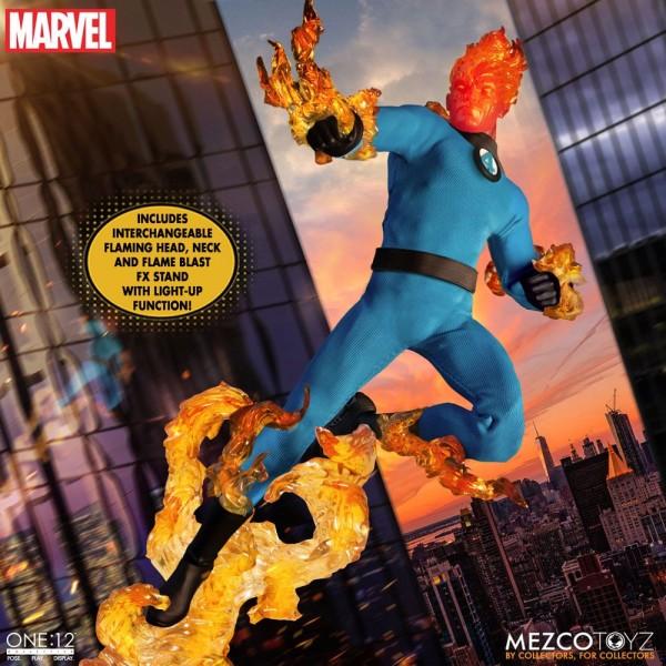 Marvel 'The One:12 Collective' Actionfiguren 1/12 Fantastic Four (Deluxe Steel Box-Set)