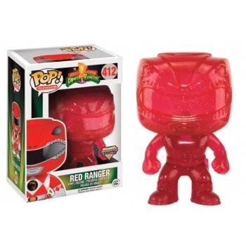 Power Rangers Funko Pop! Vinylfigur Red Ranger (Morphing) 412 Exclusive