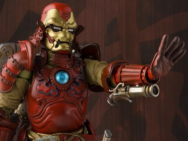 Marvel Meisho Realization Actionfigur Samurai Iron Man Mark III