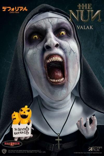 The Nun Defo-Real Series Vinylfigur Valak 2 (Open Mouth) Halloween Version