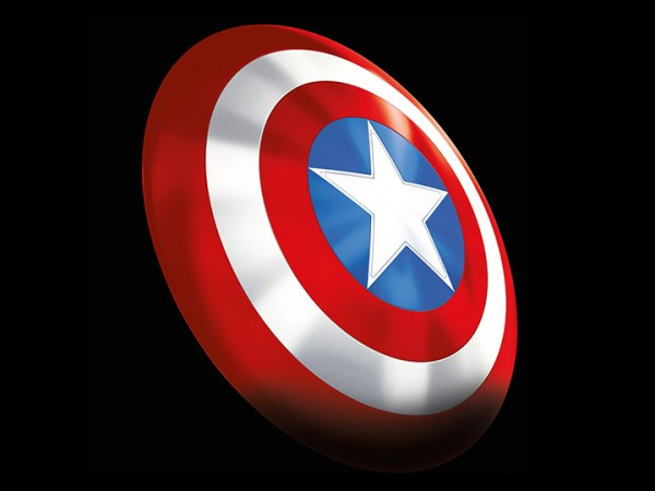 Marvel Legends 80th Anniversary 1/1 Replik Captain America Shield (Classic Comic Version)