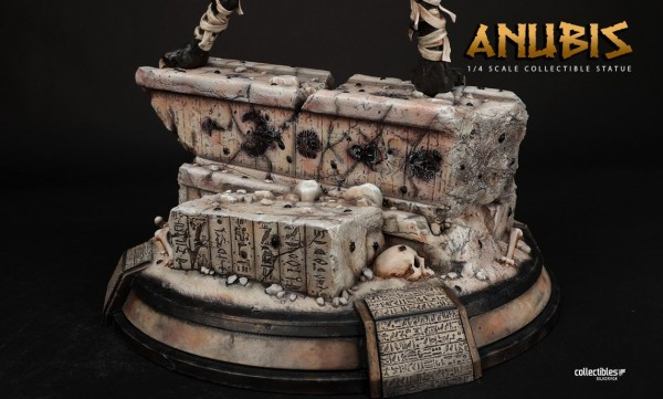 Silver Fox Collectibles Statue 1/4 Anubis