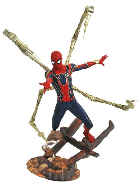 Avengers Infinity War Marvel Premier Collection Statue Iron Spider-Man