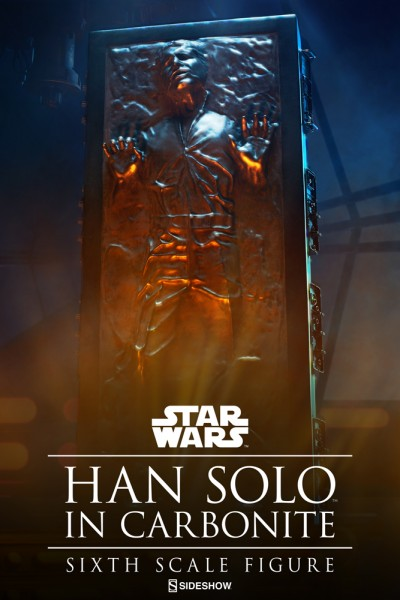 Star Wars Actionfigur 1/6 Han Solo in Karbonit