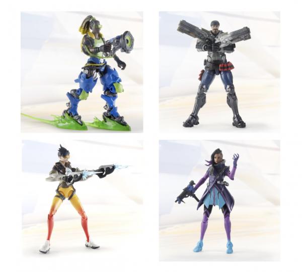Overwatch Ultimates Actionfiguren Set Wave 1 (4)