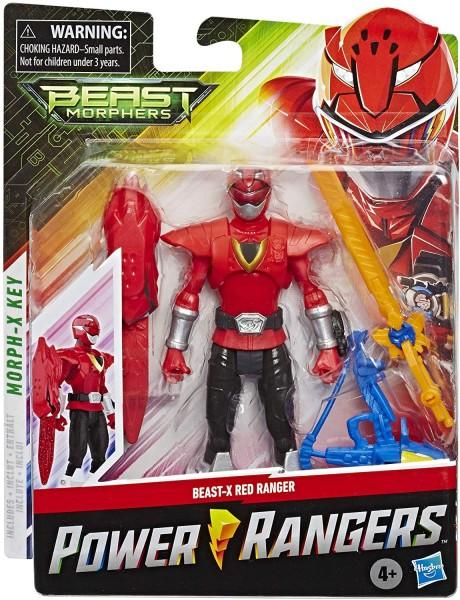 Power Rangers Beast Morphers Basic Actionfigur 15 cm Red Ranger (Beast X Mode)