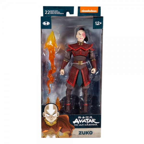 Avatar: Herr der Elemente Actionfigur Zuko