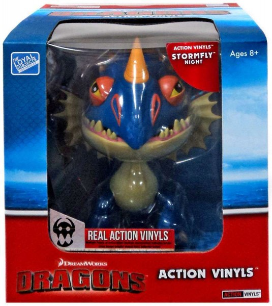How To Train Your Dragon Dragons Action-Vinylfigur Stormfly Night