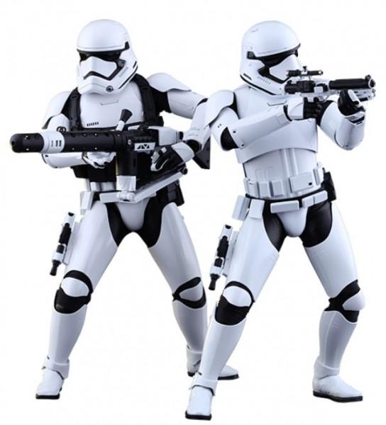 Star Wars Episode VII Movie Masterpiece Actionfiguren-Set 1/6 First Order Stormtroopers