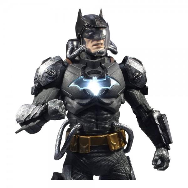 DC Multiverse Actionfigur Batman Hazmat Suit (Light-Up) Gold Label
