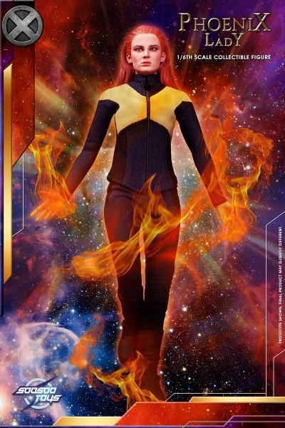 Soosootoys 1/6 Actionfigur Phoenix Lady