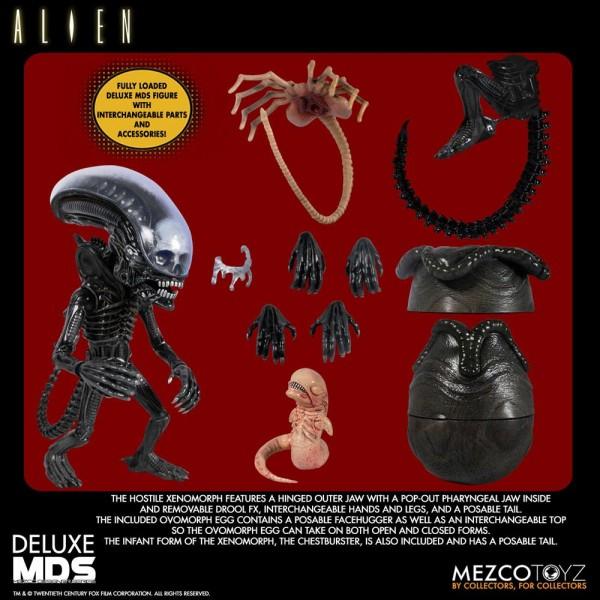 Alien MDS Series Actionfigur Xenomorph (Deluxe)