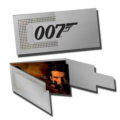 James Bond Replik 1/1 GoldenEye Linse und Schlüssel (Limited Edition)