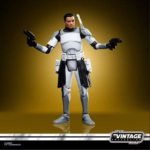 Star Wars Vintage Collection Actionfigur 10 cm Clone Commander Wolffe