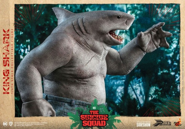 The Suicide Squad Power Pose Series Actionfigur 1/6 King Shark