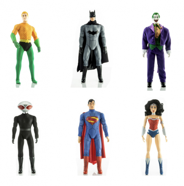 DC Comics Mego Retro Actionfiguren Set (6)