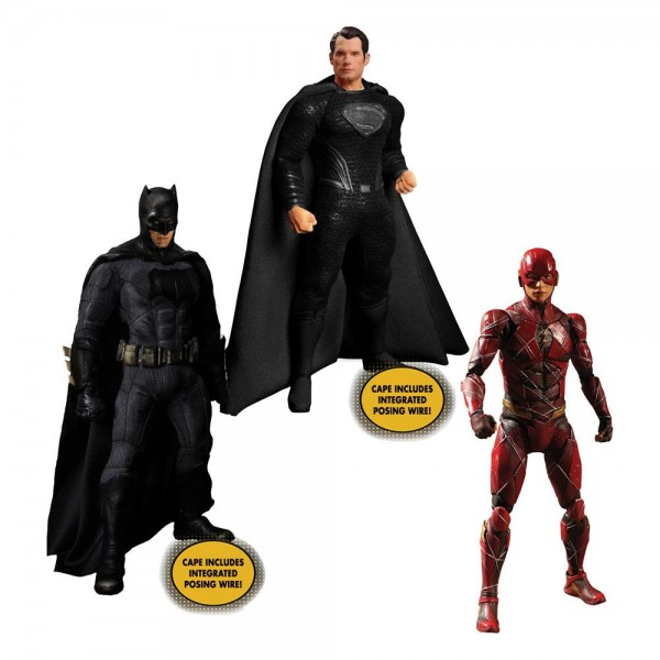 Zack Snyder's Justice League 'The One:12 Collective' Actionfiguren 1/12 Deluxe Steel Box-Set