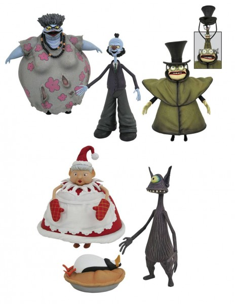Nightmare before Christmas Select Actionfiguren Serie 10 (3)