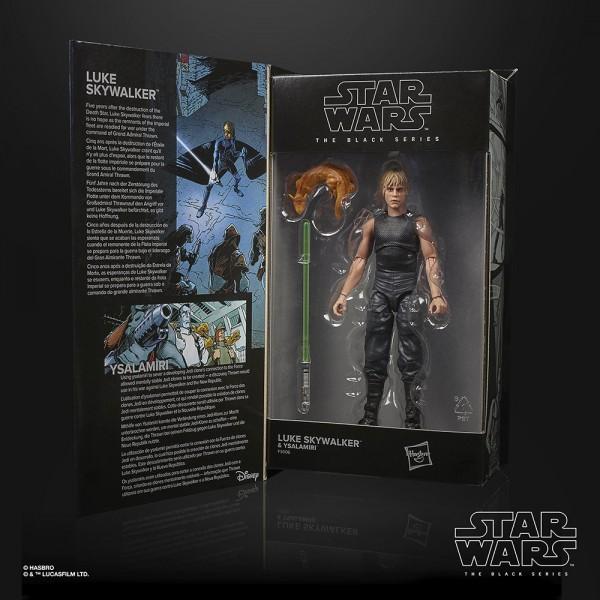 Star Wars Black Series 50th Anniversary Lucas Film Actionfigur 15 cm Luke Skywalker & Ysalamir