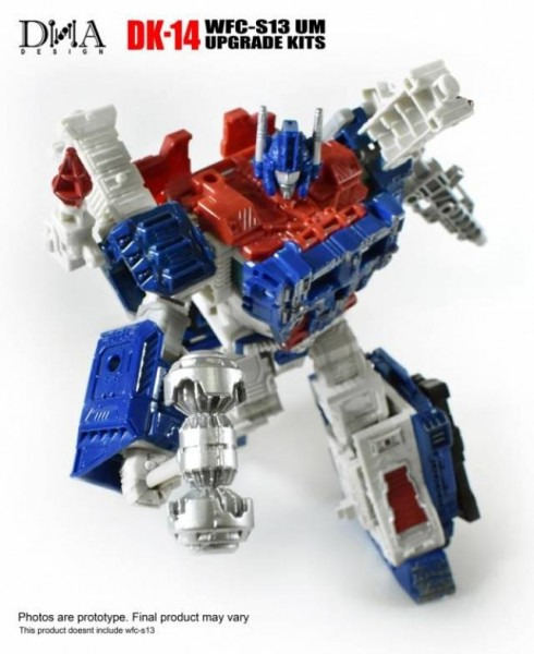 DNA Design DK-14 Upgrade Kit for Transformers Siege WFC-S13 Ultra Magnus