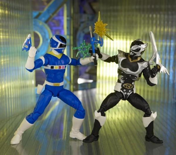 Power Rangers Lightning Collection Actionfiguren 15 cm In Space Blue Ranger & Psycho Silver (2-Pack)