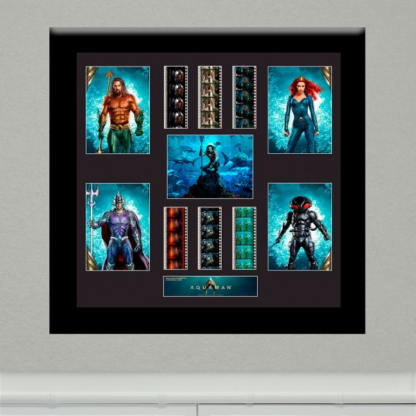 Film Cell Aquaman (Aquaman, Mera, Black Manta, Ocean Master) Montage