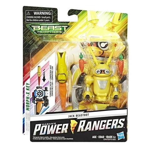 Power Rangers Beast Morphers Basic Actionfigur 15 cm Jax Beastbot